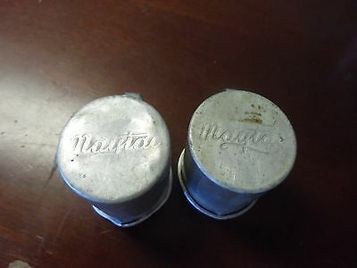 Antique Maytag Aluminum Cup One Hit Engine  2 cups