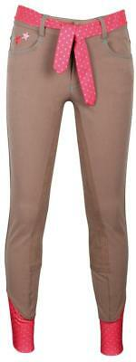 LouLou Breeches (with belt) Harrys Horse Kids Jodhpurs Horse Riding Pants