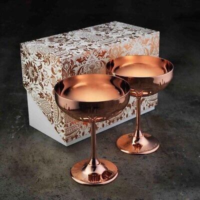 Absolut Elyx Copper Cocktail Coupe Gift Set