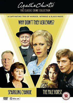 Agatha Christie Classic Crime Collection - NEW 3 DVD SET