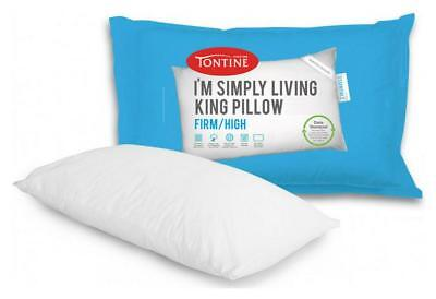 Tontine I'm Simply Living King Pillow Firm & High Free Shipping!