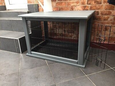 Bespoke Pine Nade To Order Dog Crate Cage Inc