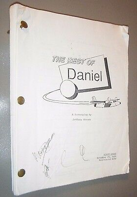 """""""Forever Young"""" The Rest of Daniel Screenplay by JJ Abrams Mel Gibson 1st Draft"""