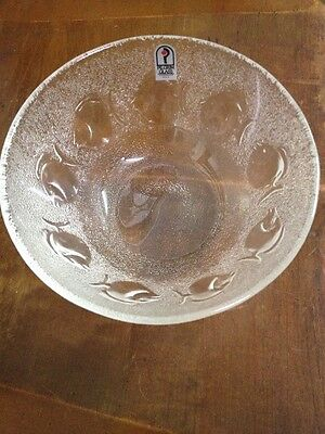 4 Pilgrim Glass Fish Bowl In Original Box With Original Sticker.