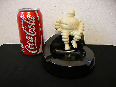 Vintage Bibendum Michelin Man Bakelite Ashtray Made in the USA - Very Good Cond.