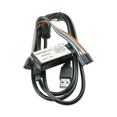 USB 24MHz 8CH Logic Analyzer Device Set USB Cable for ARM FPGA M100 E9P6