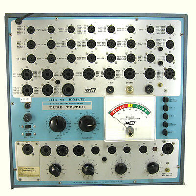 B&k 707  Dyna-Jet Tube Tester  Professional Calibrated