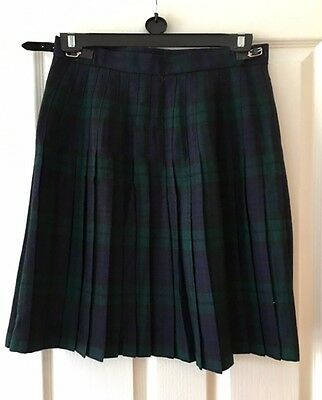 Ladies 100% Wool Scottish Kilt - size 14. Excellent condition