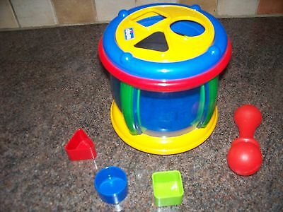 Chicco Shapes And Sounds Drum Shape Sorter