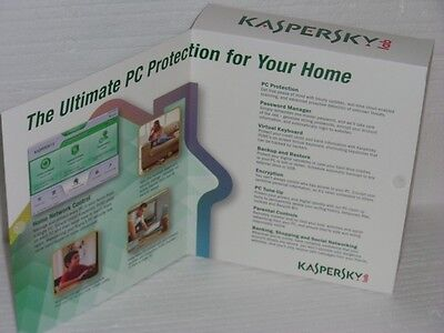BRAND NEW Kaspersky PURE 2.0 Total Security for 3 PCs