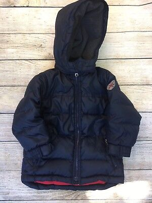 Boys BABY GAP Coat  Puffer Down Filled  Blue Winter Coat Kids Size 4 Years