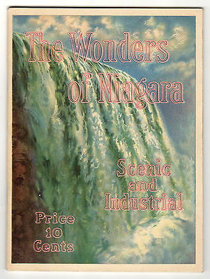 1914 Shredded Wheat Co. Booklet, The Wonders Of Niagara, Scenic And Industrial