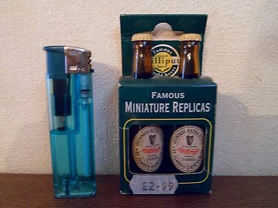 2 mini bouteilles - Guinness - Collection