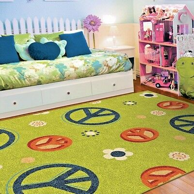 Kids Rug For Playroom Kid S Room Nursery And Classroom 79 X40 Large
