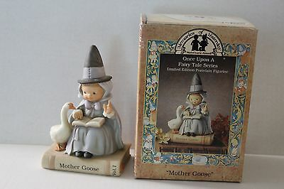 Memories of Yesterday Enesco MOTHER GOOSE 1992 Limited Edition 526428 Fairy Tale
