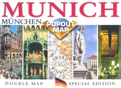 Munich PopOut Map by Compass Maps Sheet map, folded Book The Cheap Fast Free