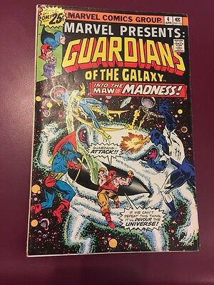 Marvel Guardians Of The Galaxy #4 Comic