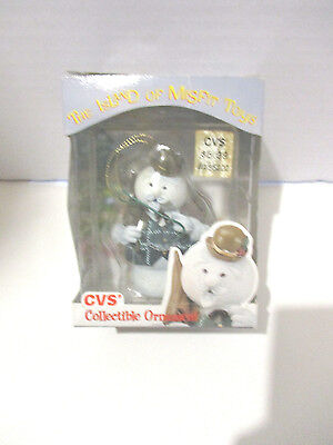 Rudolph The Red Nosed Reindeer Cvs Sam The Snowman Ornament Mib A Must Have