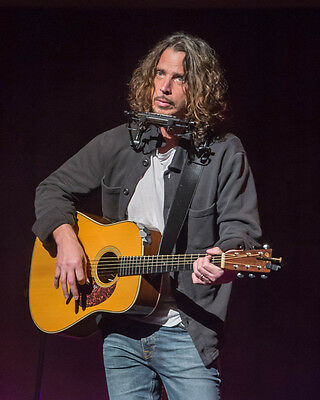 Chris Cornell 8x10 Photo R.I.P. Lab Printed Color Picture #151