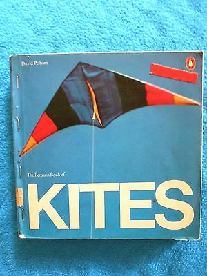 Vintage   THE PENGUIN BOOK OF KITES   by DAVID PELHAM    First Editon 1976