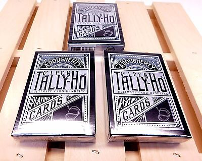 Ellusionist (3) Tally Ho Viper Playing Cards Deck