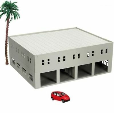 DIY Outland Models Train Railway Garage / Logistics Centre N HO OO Scale Toy