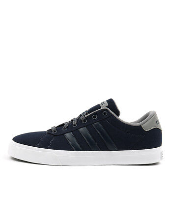 New Adidas Neo Daily Navy Navy Grey Mens Shoes Casual Sneakers Casual
