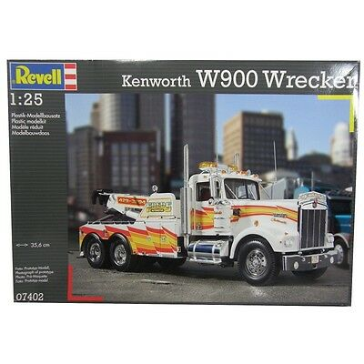 Revell 1/25 Kenworth W900 Wrecker Kit 95-07402 (New)