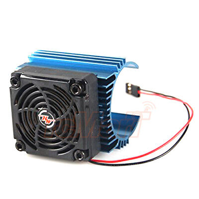 Hobbywing Ezrun C4 5V Cooling Fan 44x65mm Motor Heat Sink 1:8 RC #Fan-5010+4465