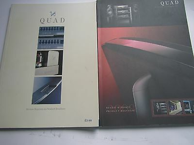 QUAD x2 Reviews Reprints Product History books valve amp amps & 99 up to ESL2905