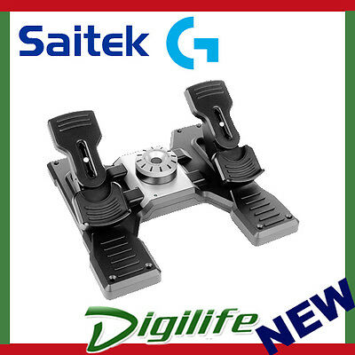 LOGITECH PRO FLIGHT Yoke & Rudder Pedals Flight Simulator