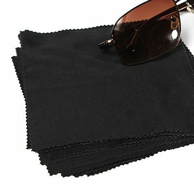 5pcs Microfibre Cleaning Cloths Eye Glasses Camera Lens GPS Clean Wipe Cloth
