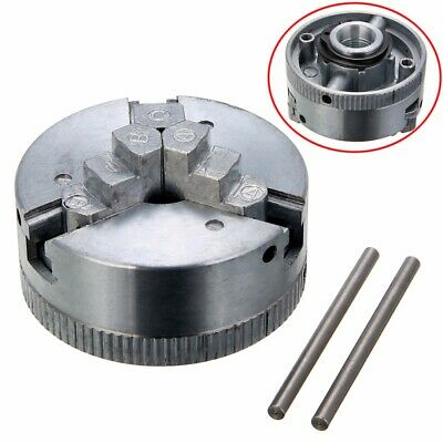1pc 3 Jaw Lathe Chuck M12*1 45mm Self Centering Hardened  + Two Lock Rods