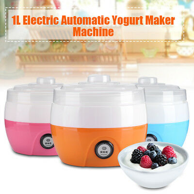 220V 1L DIY Yogurt Maker DIY Delicious Home Made Yoghurt Machine Kitchen DY