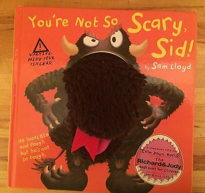"""""""You're Not So Scary Sid"""", Baby Puppet Book"""
