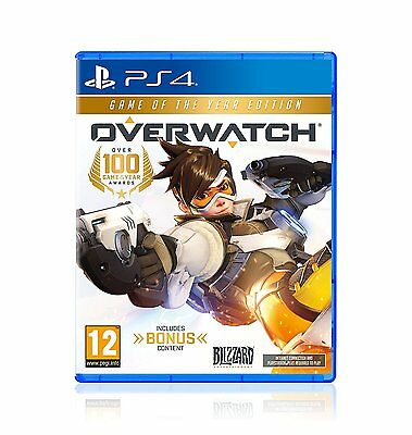 Overwatch Game of the Year Edition (PS4) BRAND NEW SEALED