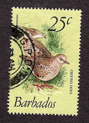 1979 Barbados 25c Scaly breasted ground dove SG629 FINE USED R31083