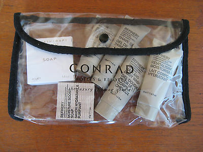 Conrad Hotel Refinery Travel Bag