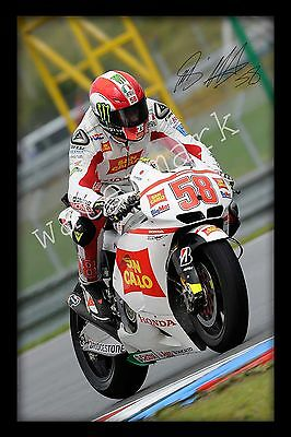 Valentino Rossi Signed Autograph A4 Photo Print Poster-Framed or Unframed Avail.