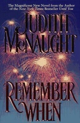 Remember When by McNaught, Judith Hardback Book The Cheap Fast Free Post
