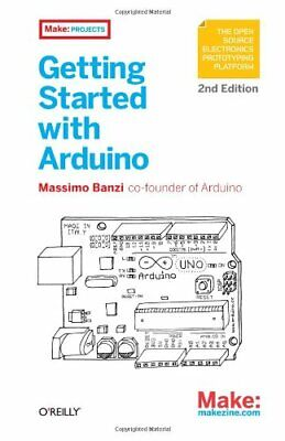 Getting Started with Arduino by Massimo  Banzi Book The Cheap Fast Free Post