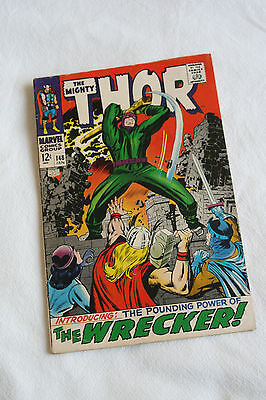The Mighty Thor 148 First Appearance of the Wrecker Stan Lee Jack Kirby