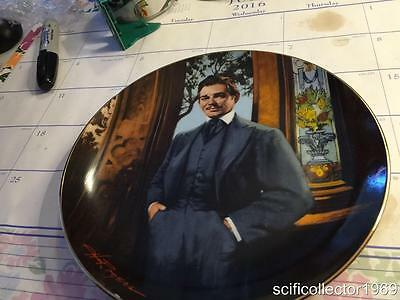GONE WITH THE WIND COLLECTOR PLATE Rare Frankly My Dear W/COA'