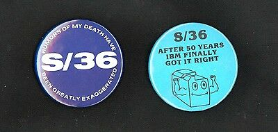 IBM System 36 Sys/36 Fun Buttons