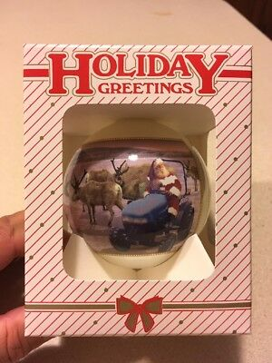 2002 New Holland Christmas Ornament NOS