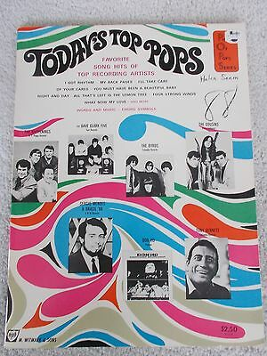 Today's Top Pops Songs Voice Piano Gershwin Others Unmarked