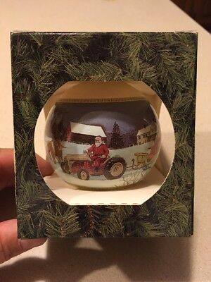 1993 Ford New Holland Christmas Ornament NOS