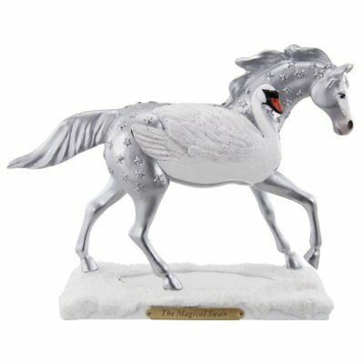 Trail of Painted Ponies Magical Swan Figurine, 6-3/4-Inch