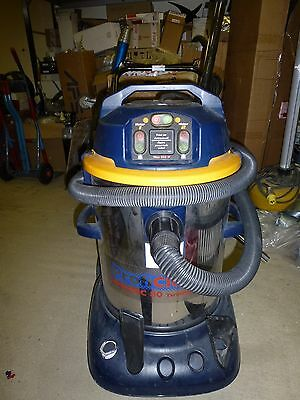 SEALEY PC80 VACUUM CLEANER INDUSTRIAL WET & DRY TWIN MOTOR 80LTR 1200/2400w/240v