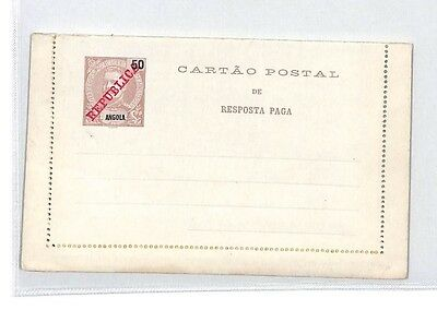 BM150 Angola Post Card Postal Stationery {samwells-covers} PTS